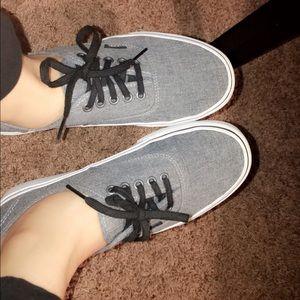 Gray Vans!